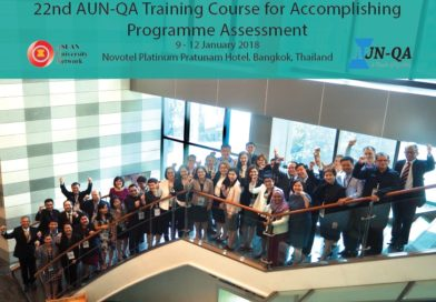 The 22nd AUN-QA Training Course (Tier 1) for Accomplishing Program Assessment